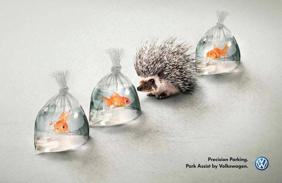 Гениальные идеи подняли рекламу на новый уровень