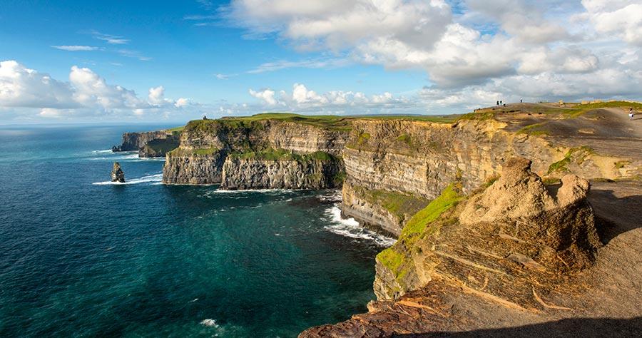 Путешествие с пользой для здоровья Утесы Мохер Ирландия Ireland