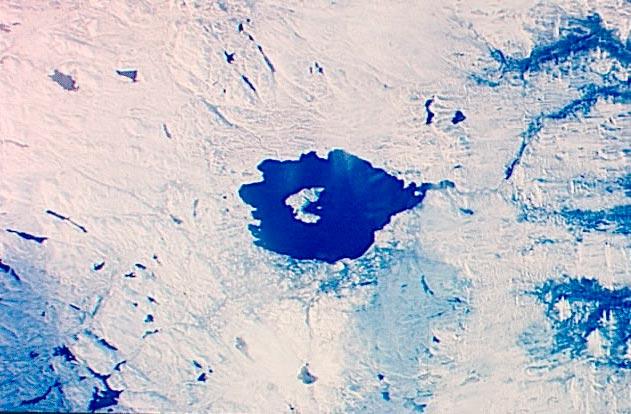 Крупнейшие метеоритные удары в истории Озеро Мистастин, Лабрадор, Канада