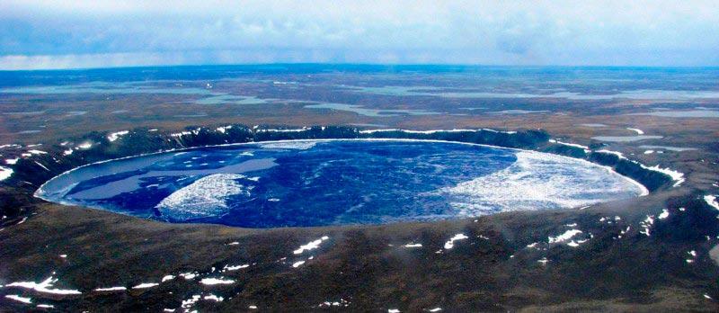 Крупнейшие метеоритные удары в истории Кратер Чиксулуб, Мексика