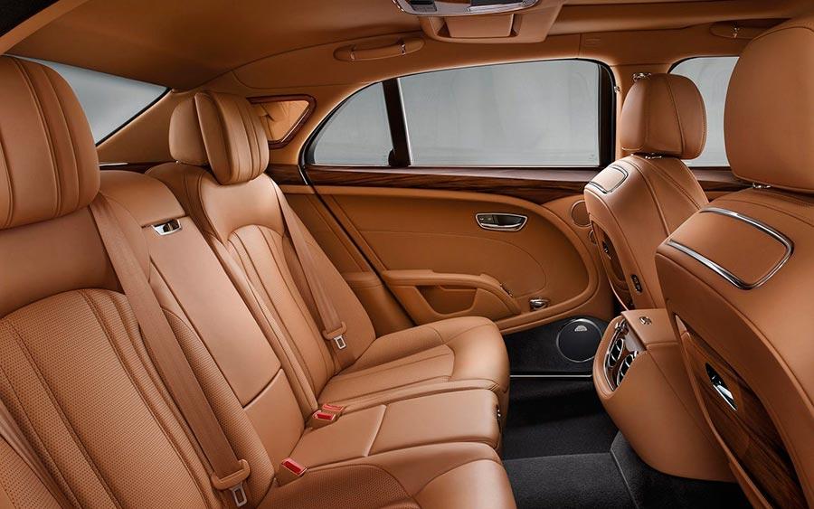 роскошные серийные автомобили Bentley Mulsanne
