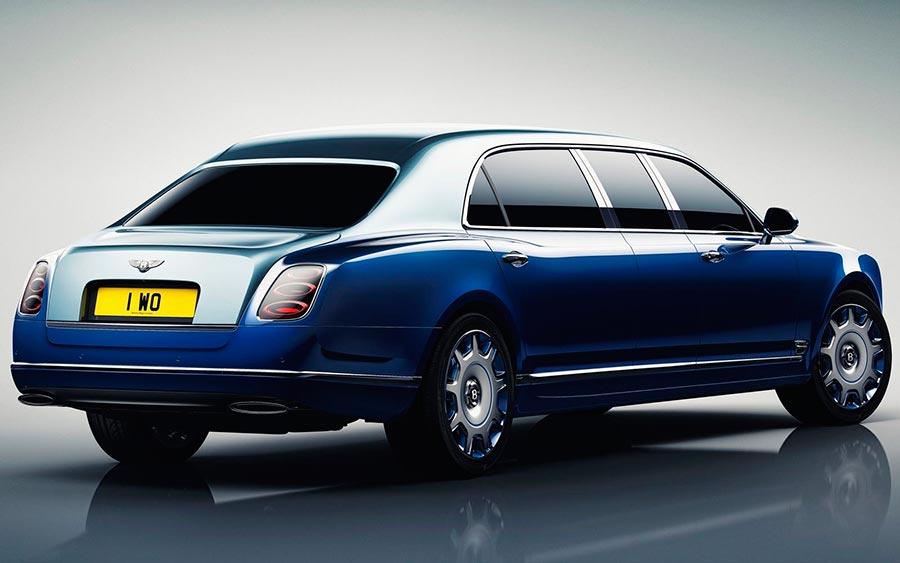 роскошные серийные автомобили Bentley Mulsanne Gran Limousine by Mulliner