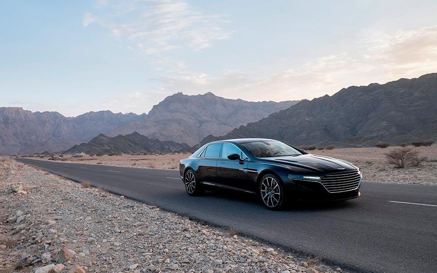 роскошные серийные автомобили Aston Martin Lagonda Taraf