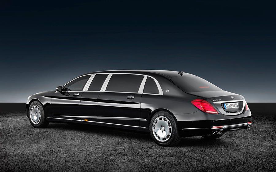 роскошные серийные автомобили Mercedes-Benz S600 Pullman Guard
