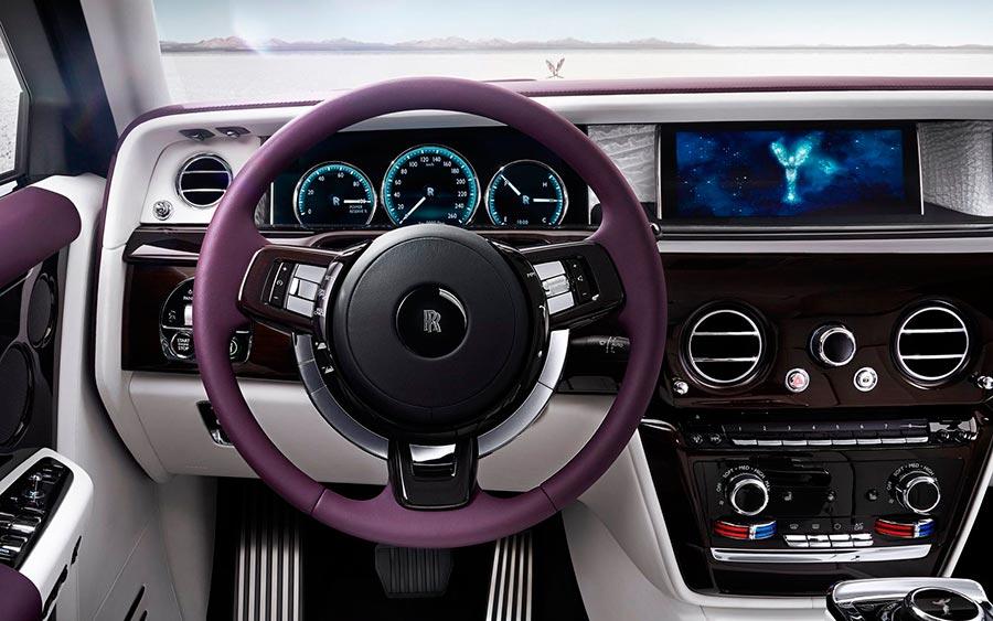 роскошные серийные автомобили Rolls-Royce Phantom VIII