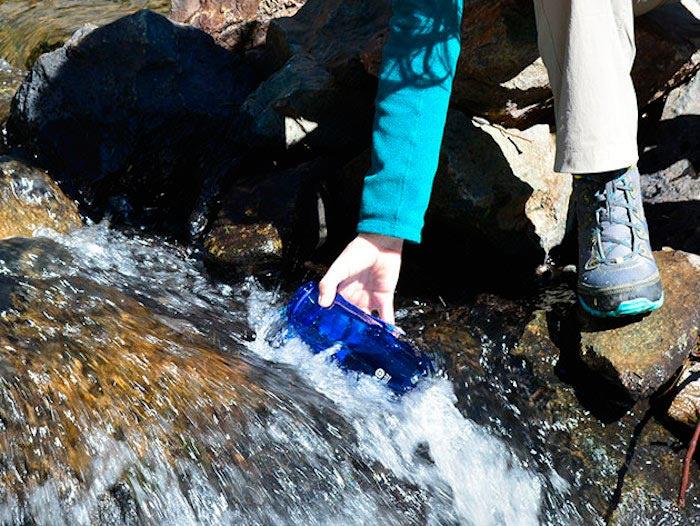 Волшебная фляга очистит воду даже из грязной лужи 1HYDRO Series Filtration Bottle