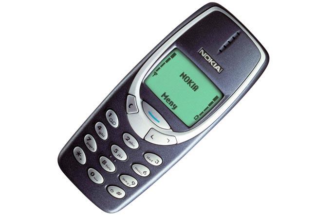 Мобильные телефоны-бестселлеры Nokia 3310
