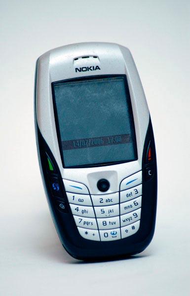 Мобильные телефоны-бестселлеры Nokia 6600