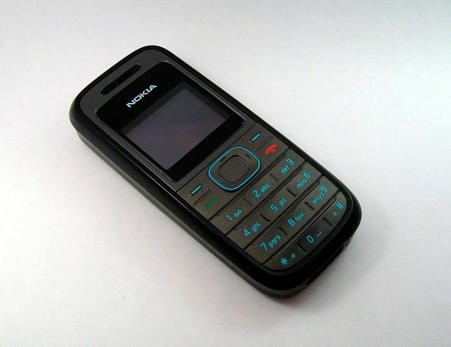 Мобильные телефоны-бестселлеры Nokia 1208