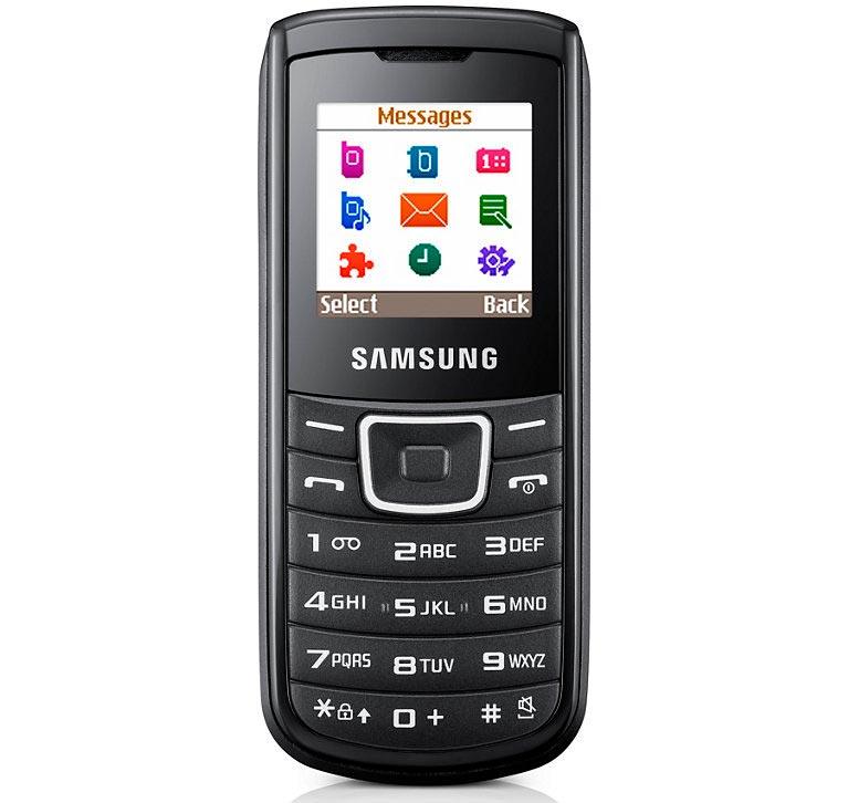 Мобильные телефоны-бестселлеры Samsung E1100