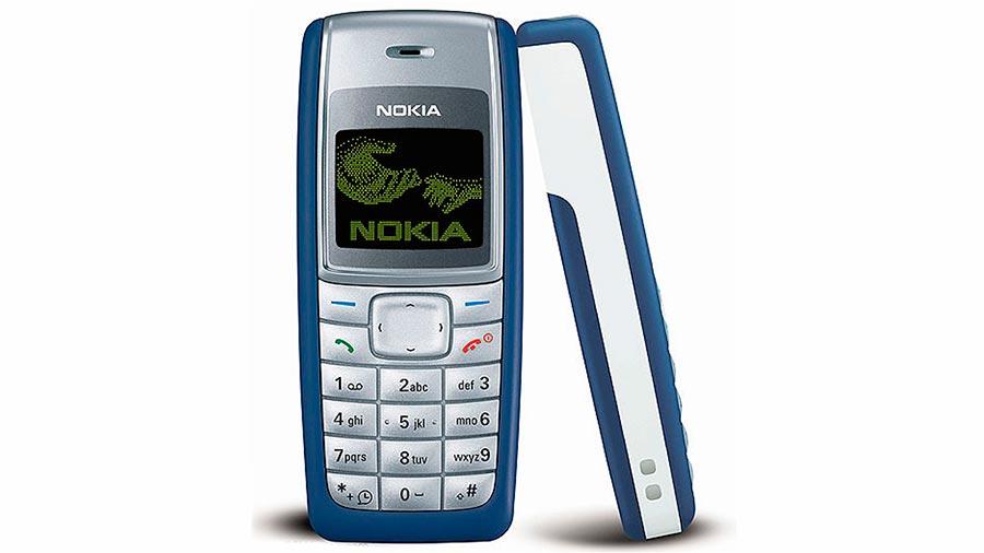 Мобильные телефоны-бестселлеры Nokia 1110