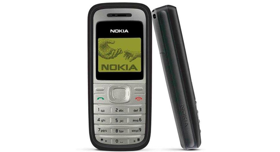 Мобильные телефоны-бестселлеры Nokia 1200