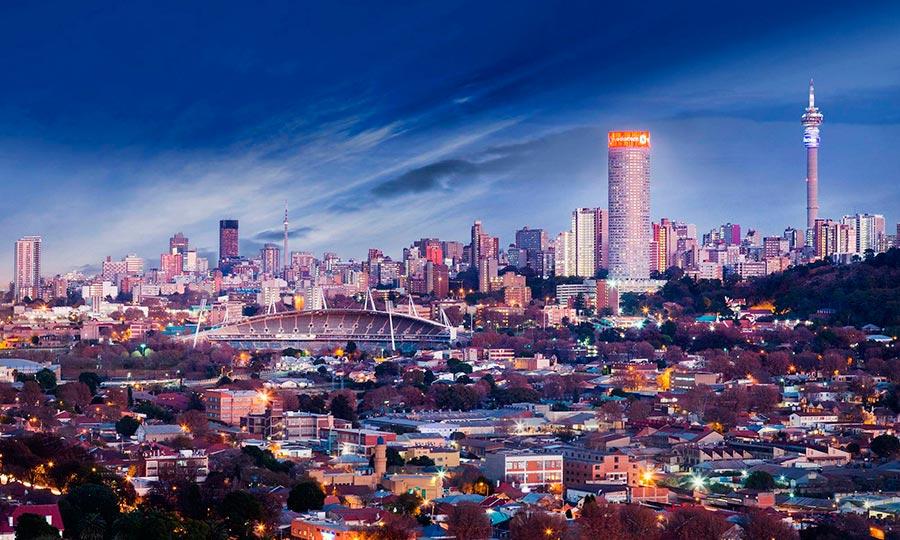 посещаемые города мира на 2017 год Йоханнесбург ЮАР Johannesburg South Africa