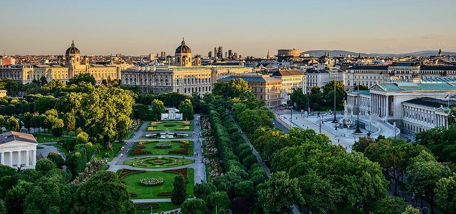 посещаемые города мира на 2017 год Вена Австрия Vena Austria