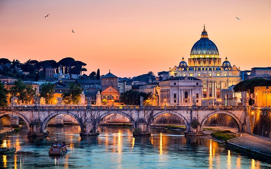 посещаемые города мира на 2017 год Рим Италия Rome Italy