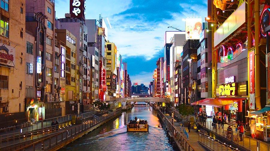 посещаемые города мира на 2017 год Осака Япония Osaka Japan