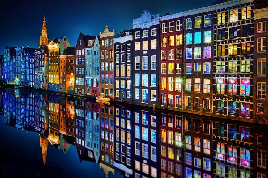 посещаемые города мира на 2017 год Амстердам Нидерланды Amsterdam Nidherlands