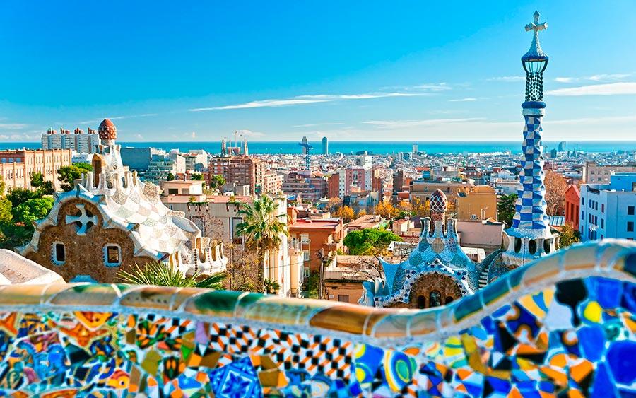 посещаемые города мира на 2017 год Барселона Испания Barcelona Spain