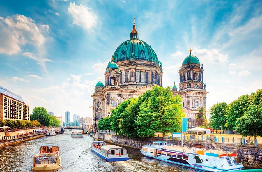 посещаемые города мира на 2017 год Берлин Германия Berlin Germany