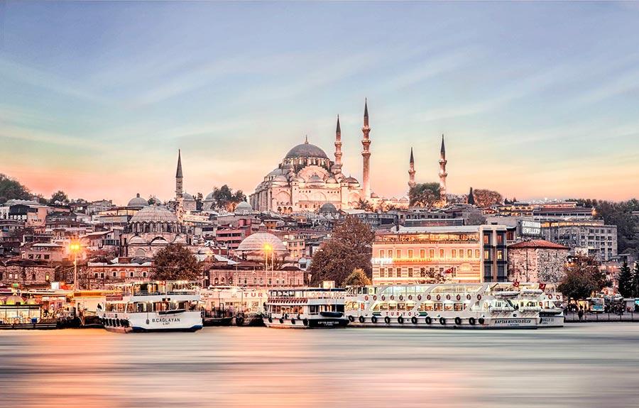 посещаемые города мира на 2017 год Стамбул Турция Isanbul Turkey