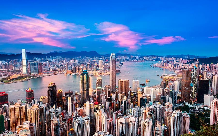 посещаемые города мира на 2017 год Гонконг КНР Hong Kong China