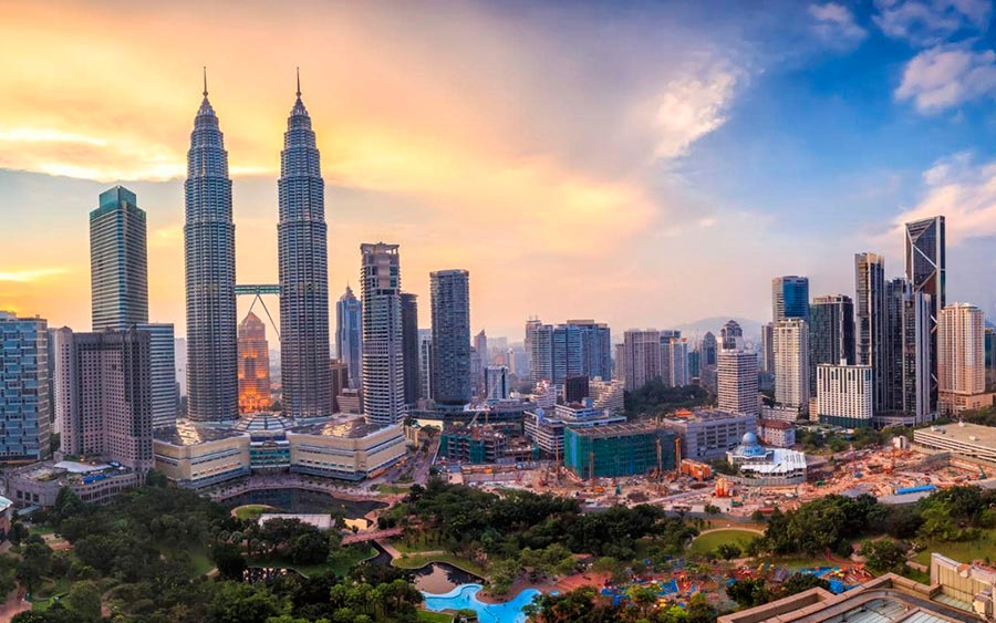 посещаемые города мира на 2017 год Куала-Лумпур Малайзия Kuala Lumpur Malaysia