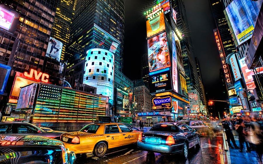 посещаемые города мира на 2017 год Нью-Йорк США New York USA