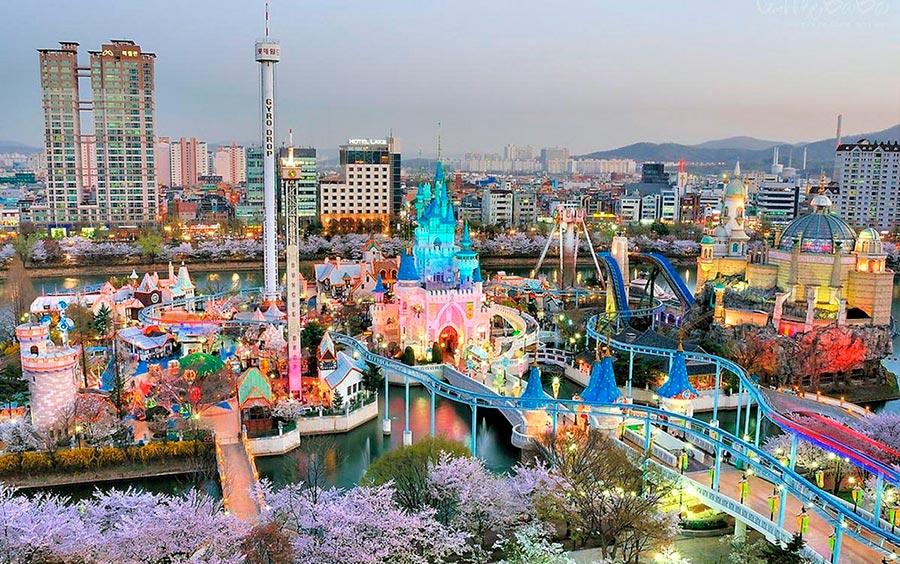 посещаемые города мира на 2017 год Сеул Южная Корея Seoul South Korea
