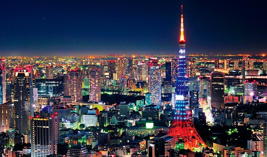 посещаемые города мира на 2017 год Токио Япония Tokyo Japan