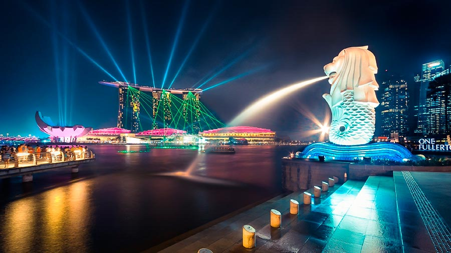 посещаемые города мира на 2017 год Сингапур Singapore