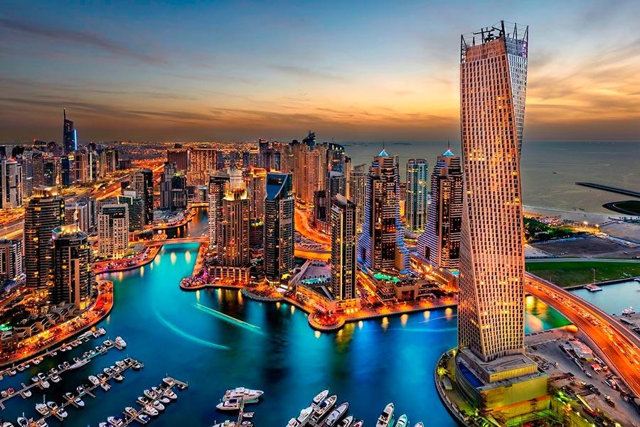 посещаемые города мира на 2017 год Дубай ОАЭ Dubai United Arab Emirates