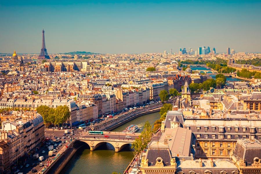 посещаемые города мира на 2017 год Париж Франция Paris France