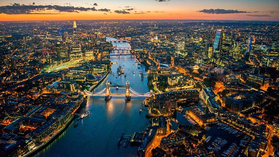 посещаемые города мира на 2017 год Лондон Великобритания London Great Britain