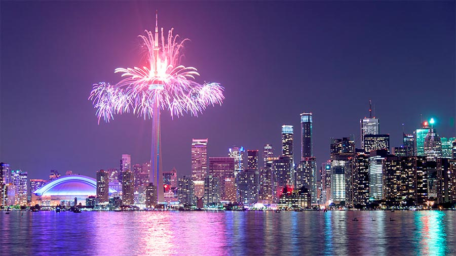 посещаемые города мира на 2017 год Торонто Канада Toronto Canada