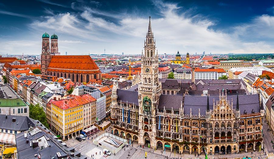 посещаемые города мира на 2017 год Мюнхен Германия Munich Germany