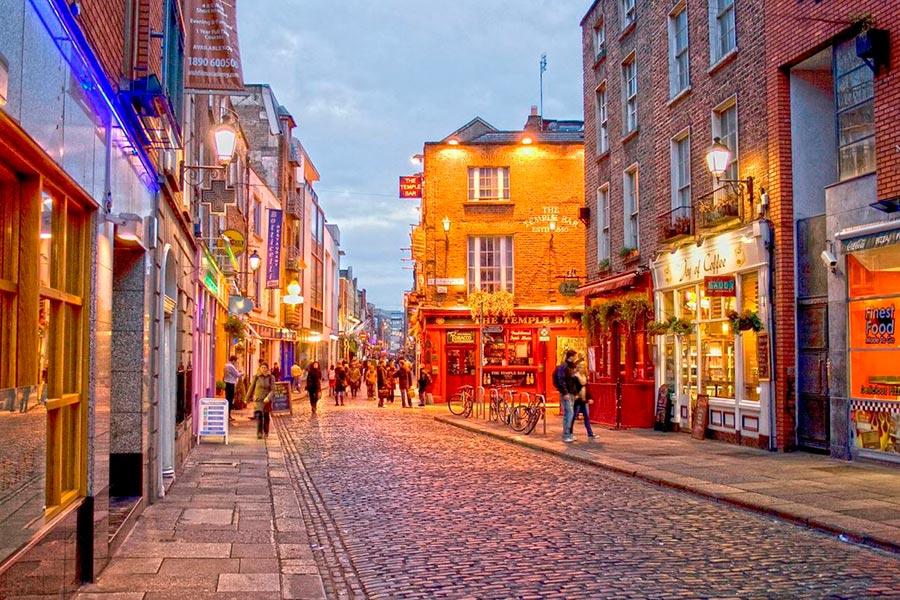 посещаемые города мира на 2017 год Дублин Ирландия Dublin Ireland
