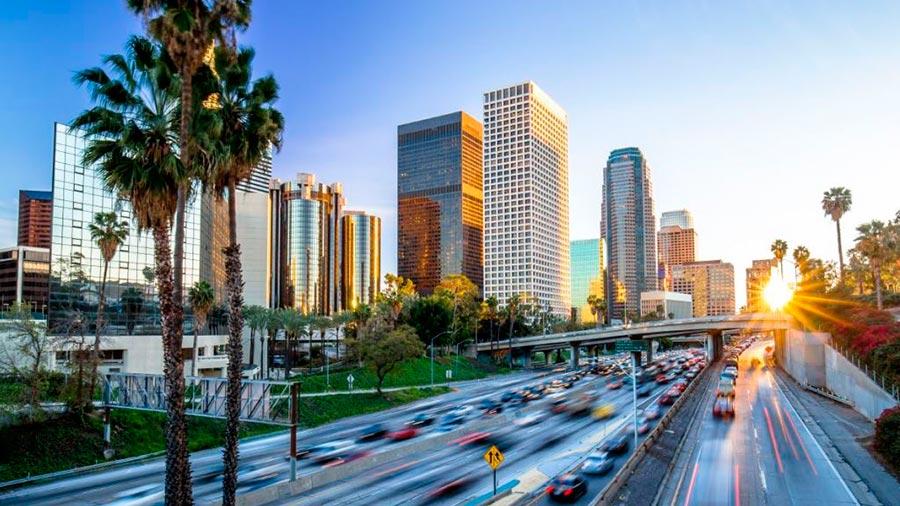 посещаемые города мира на 2017 год Лос-Анджелес Калифорния Los-Angeles CA