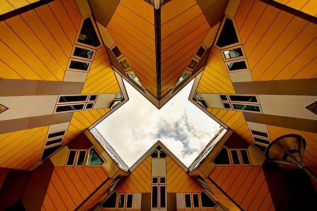 Самые оригинальные дома в мире Кубические дома, Нидерланды