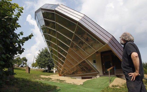 Самые оригинальные дома в мире Heliodome, Франция