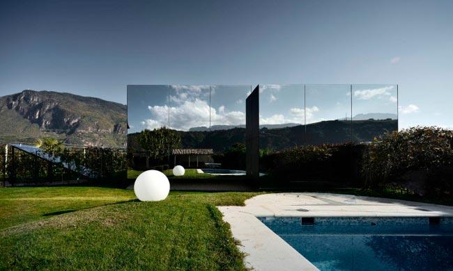 Самые оригинальные дома в мире Зеркальный дом, Италия