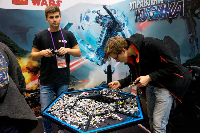 Фотоотчёт с российской выставки ИгроМир 2017