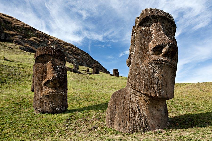 Места на Земле могут исчезнут Остров Пасхи