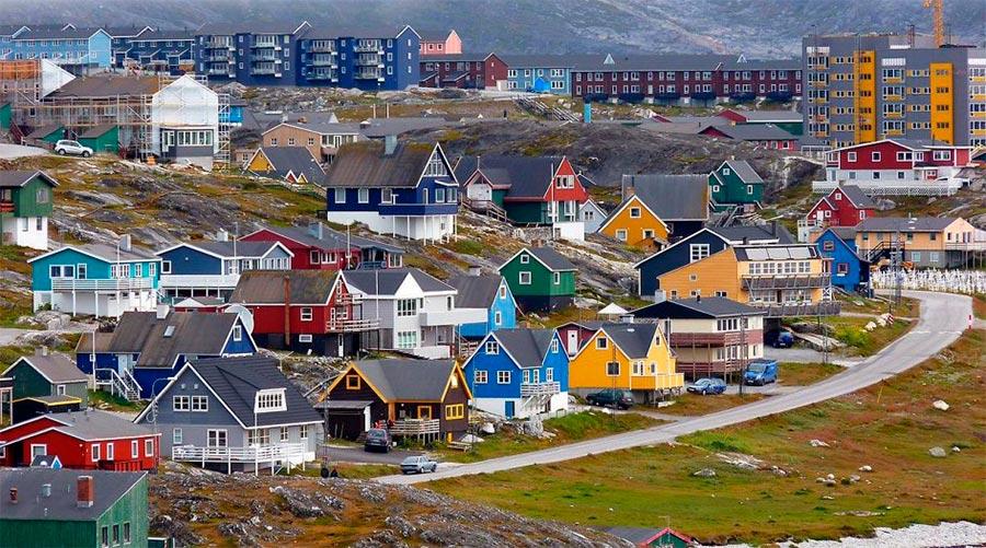 Места на Земле могут исчезнут Нуук Гренландия