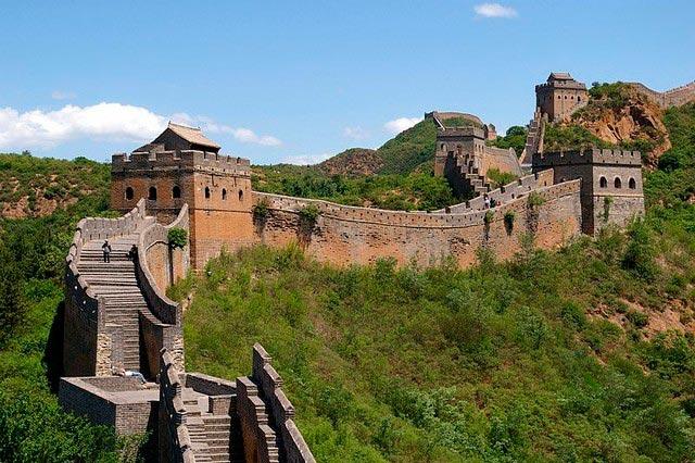 Места на Земле могут исчезнут Великая Китайская стена