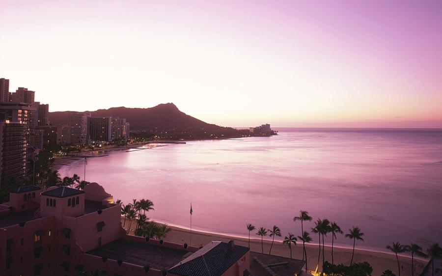 места для романтического путешествия Гонолулу Гавайские острова