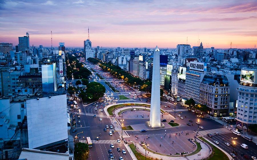 места для романтического путешествия Буэнос-Айрес Аргентина Buenos-Aires Argentina