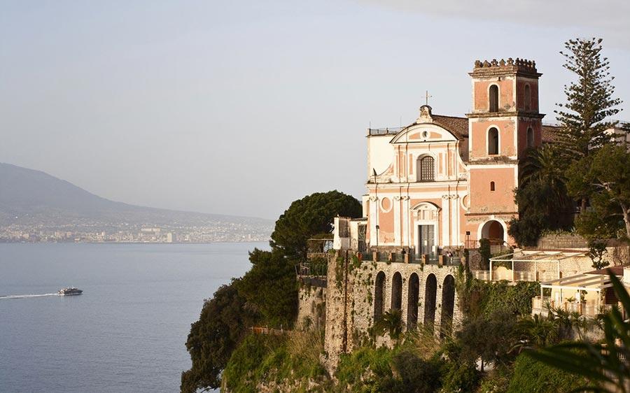 места для романтического путешествия Вико-Экуэнсе Италия Vico-Equense Italy