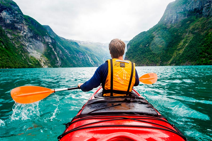 популярные виды спорта на воде Каякинг