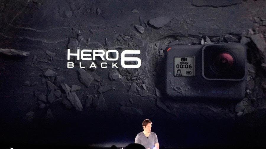 GoPro представила экшн-камеру Hero 6