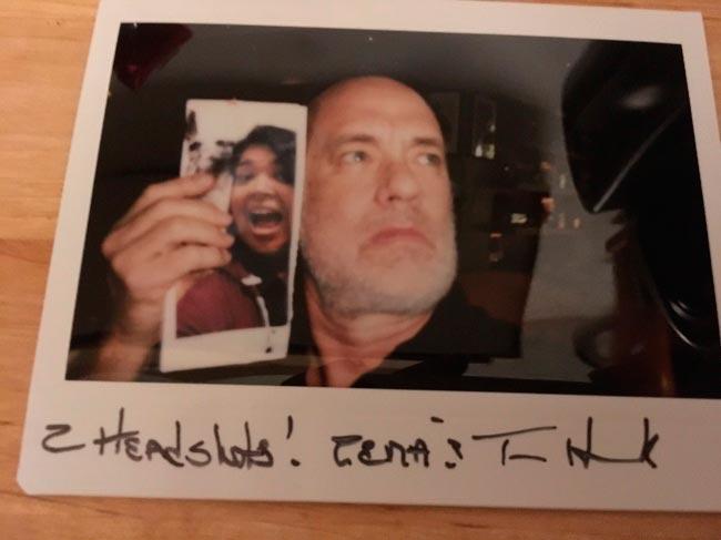 Звезды, которые знают толк в фотографиях с фанатами Том Хэнкс